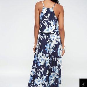 Lulu's Dresses - Lulus Two Piece Floral Dress